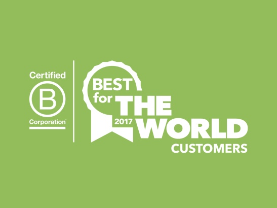 2017 Best For Customers Honoree!